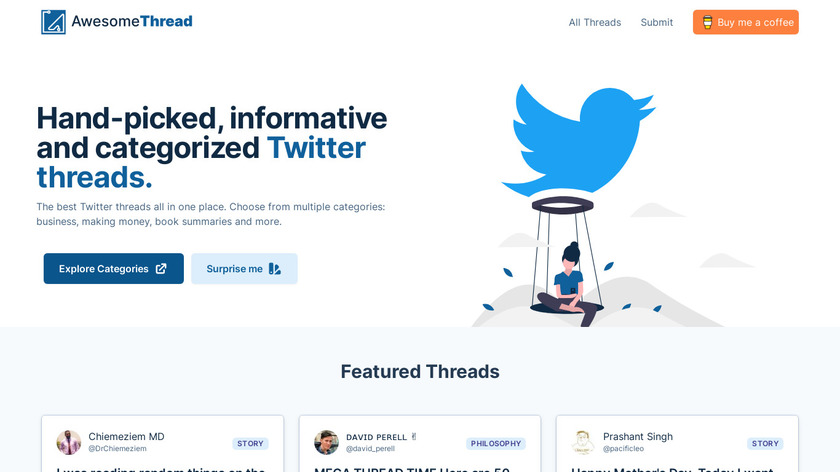 AwesomeThread Landing Page