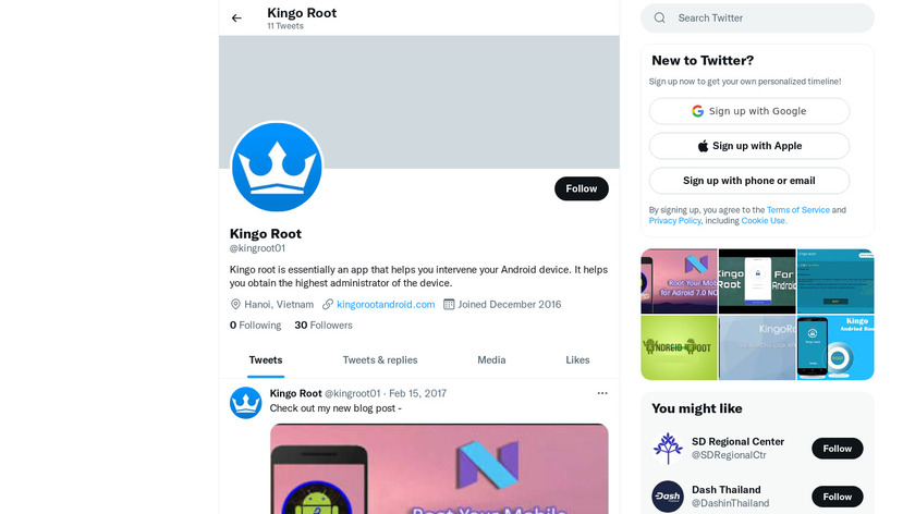 King Go Root Checker Landing Page