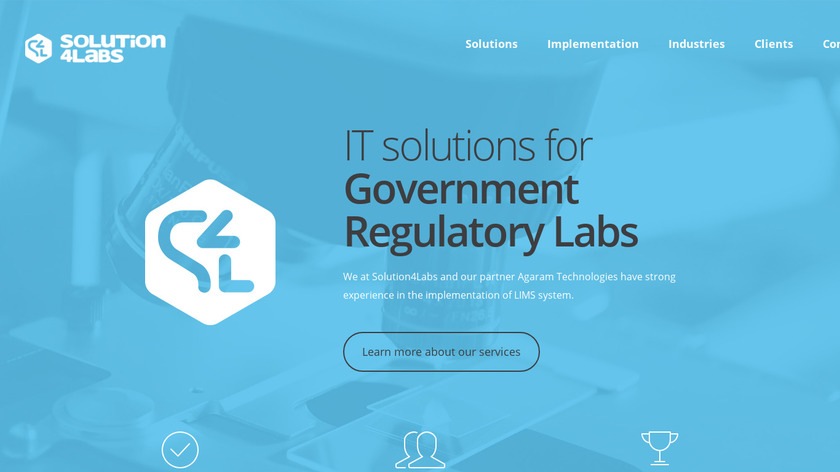 Solution4Labs Landing Page