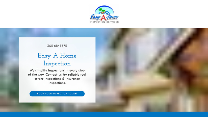 EasyInspection Landing Page