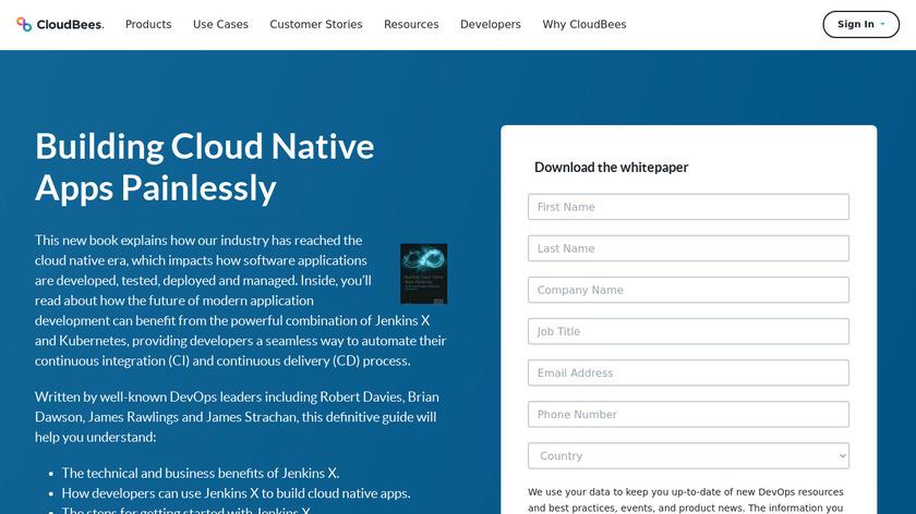 CloudBees CI Landing Page