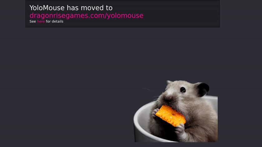 YoloMouse Landing Page