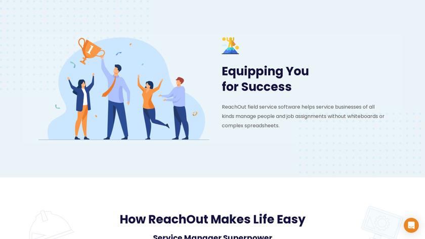 ReachOut Landing Page