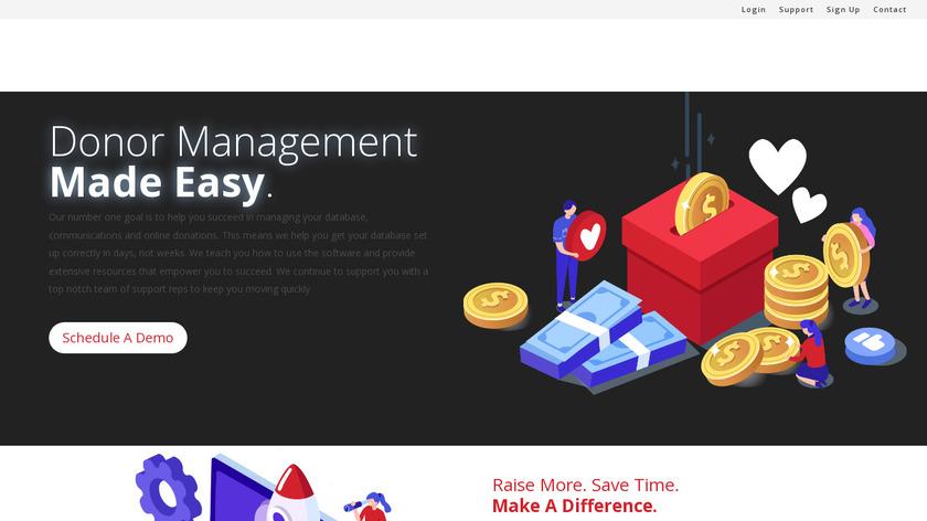 DonorSnap Landing Page