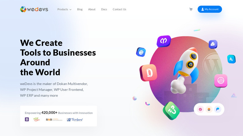 WP Project Manager Landing Page