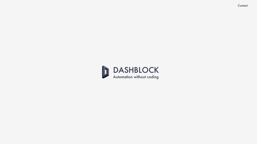 Dashblock Landing Page