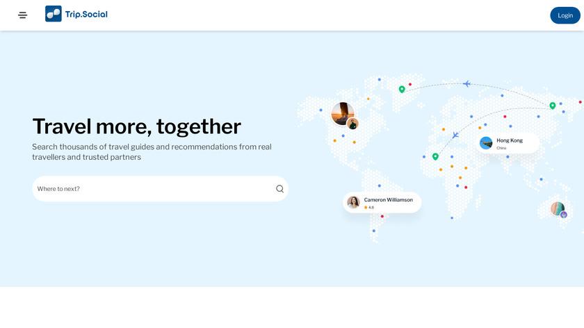 GoPavel Landing Page