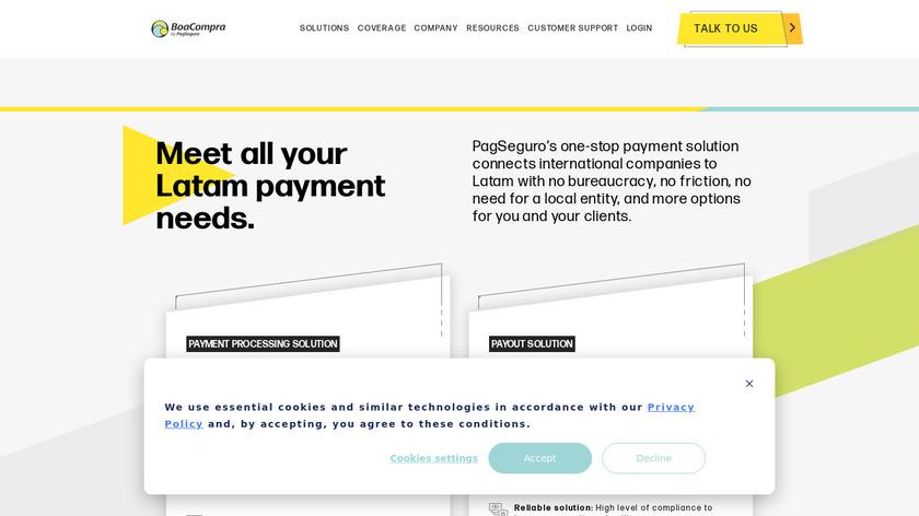 Boacompra Landing Page