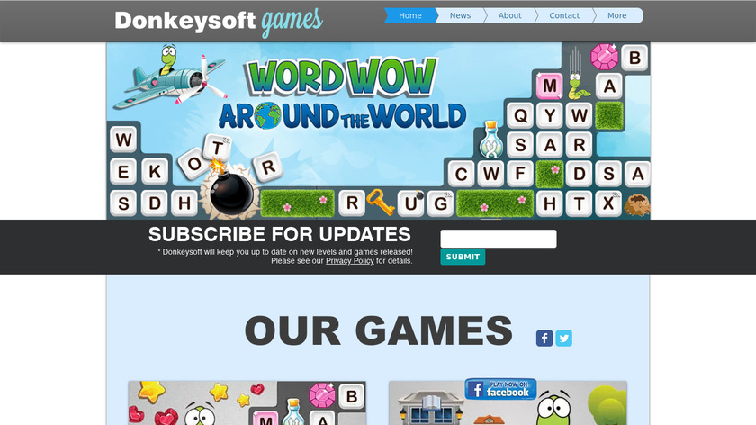 Word Wow Landing Page