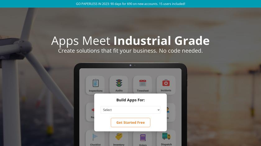 Appenate Mobile Client Landing Page