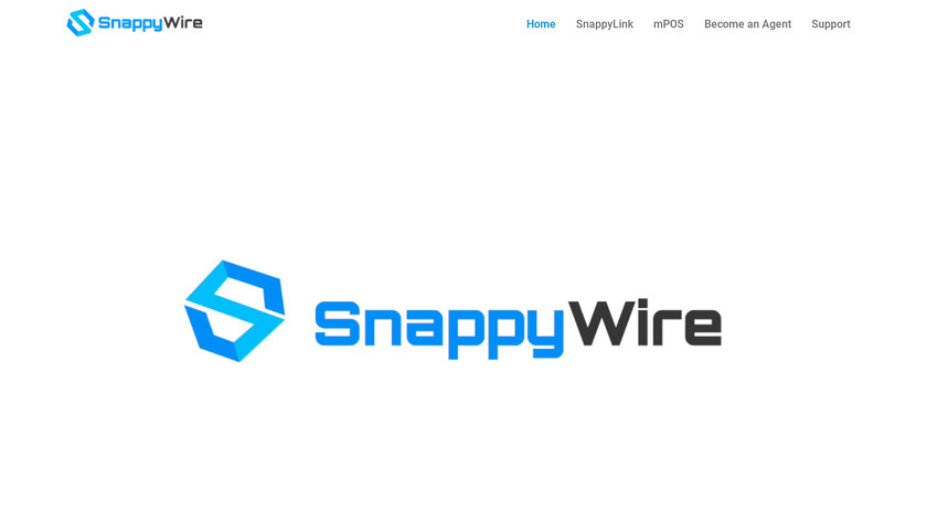 SnappyWire Landing Page
