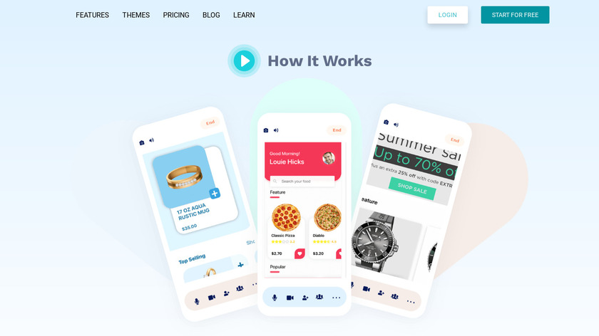 Const Apps Landing Page