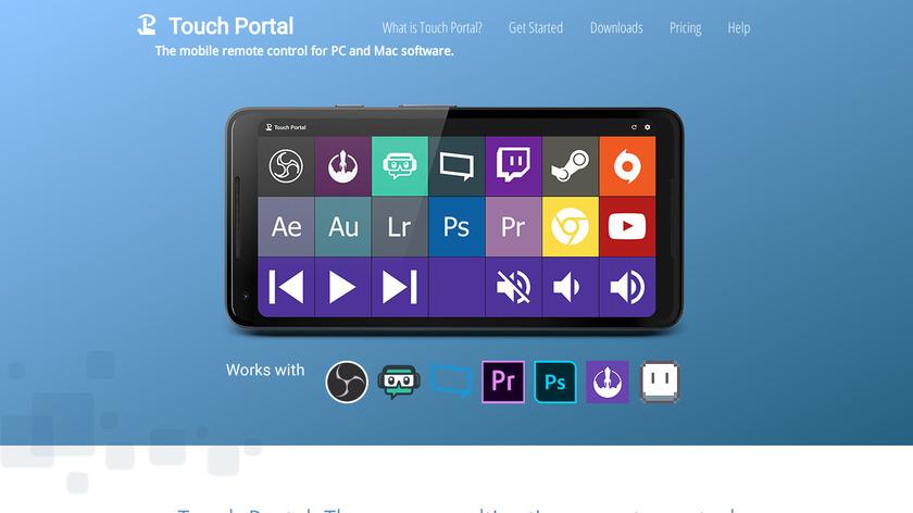 TouchPortal Landing Page