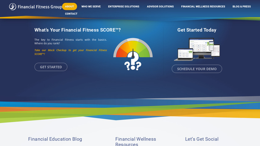 Financial Fitness Group Landing Page