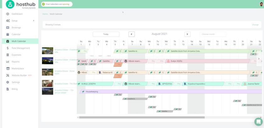 Syncbnb Landing Page