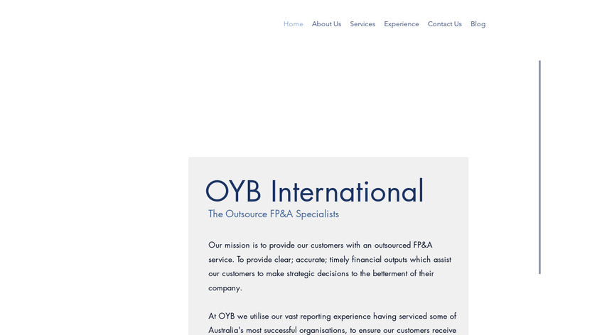 CPM Software Landing Page