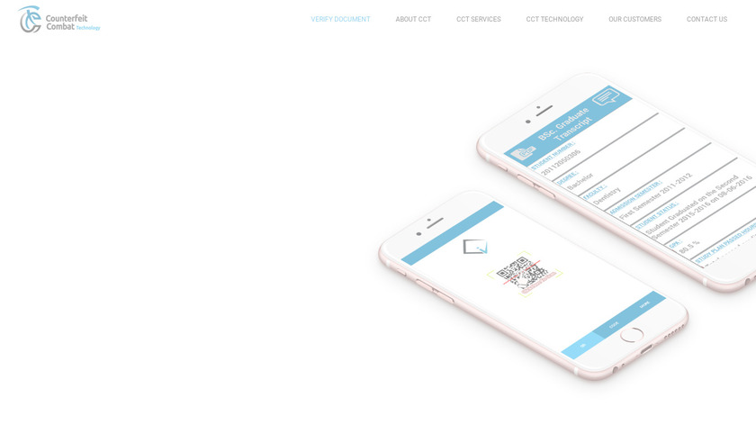 iVerify-Check Landing Page