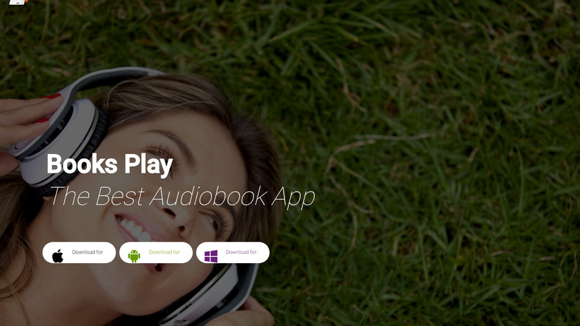 Books Play – Audiobooks Free Landing Page