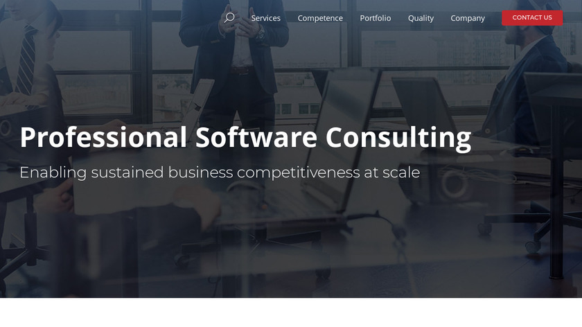 Oxagile IoT Services Landing Page