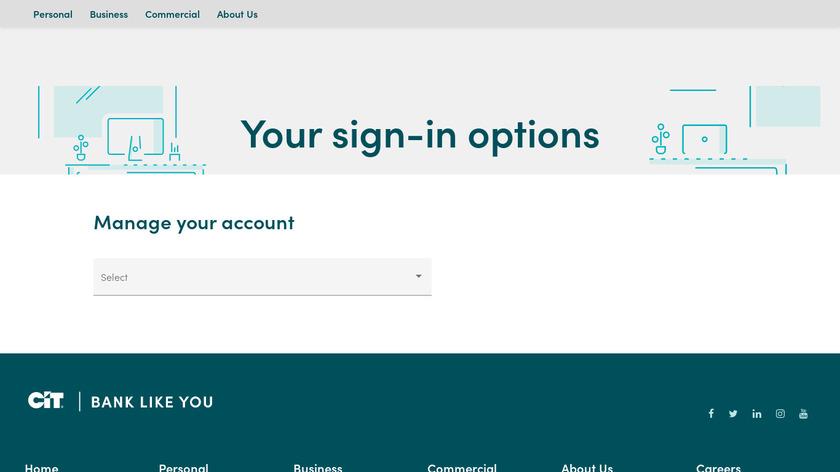 CI-Sign Landing Page