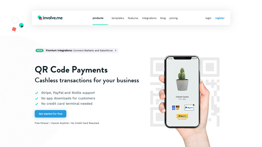 QR Code Payments Landing Page