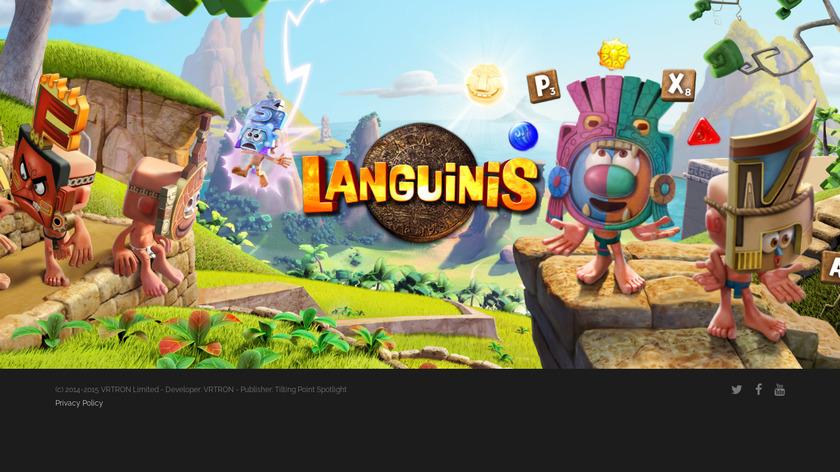 Languinis Landing Page
