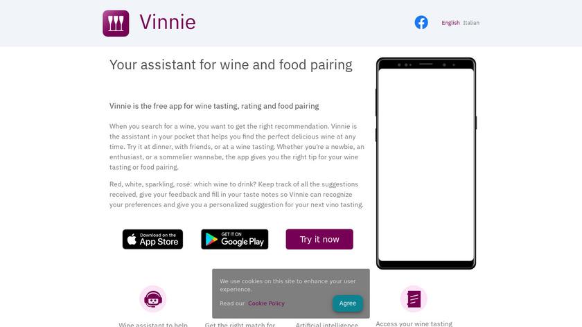 Vinnie Landing Page