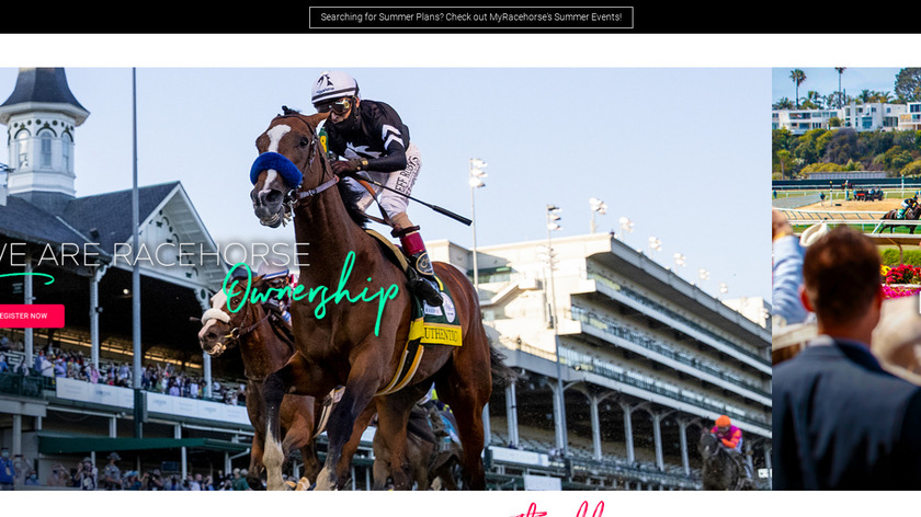 My Race Horse Landing Page