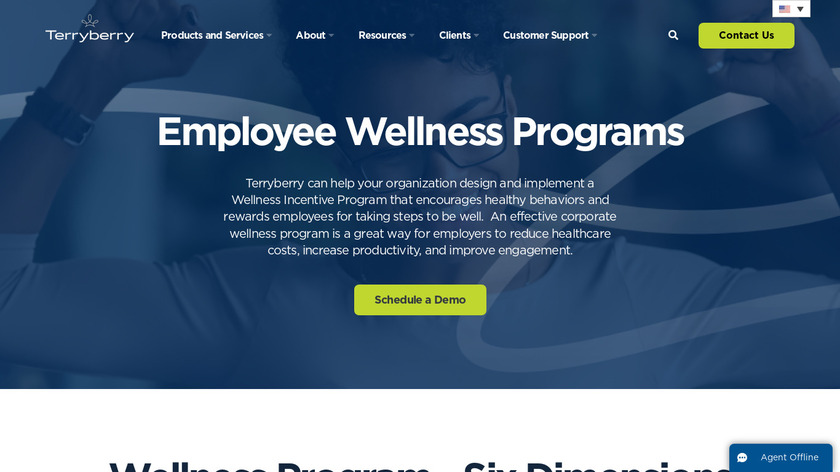 Terryberry Wellness Landing Page