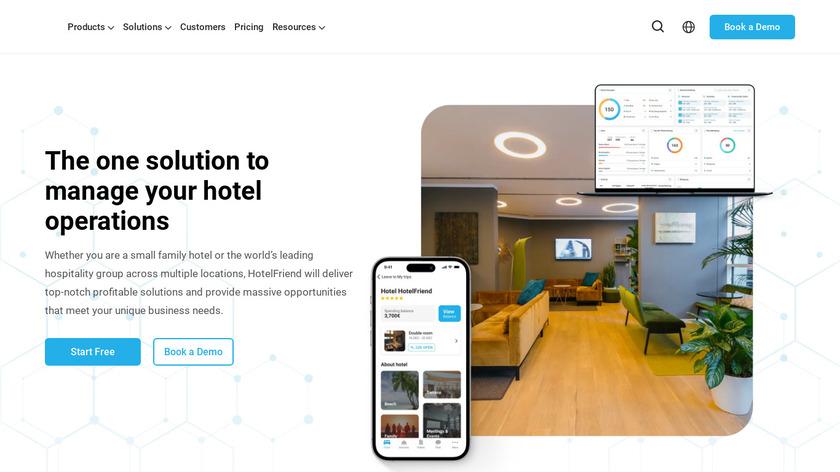 HotelFriend Landing Page