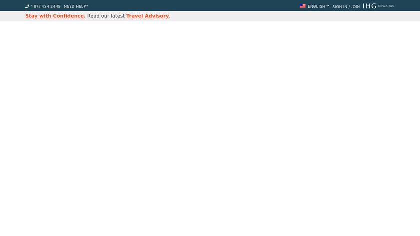 IHG Landing Page