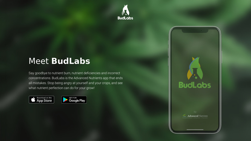 BudLabs Landing Page