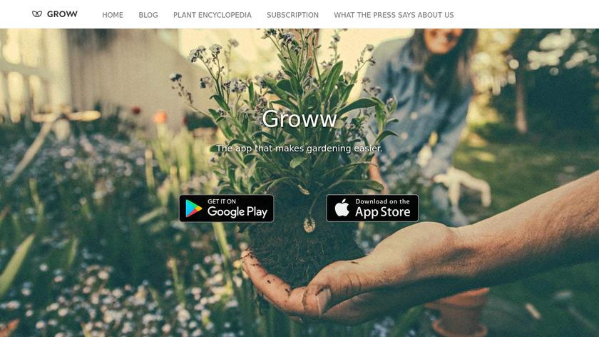 Groww Landing Page