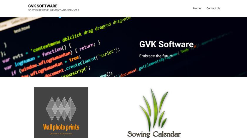 Sowing Calendar – Gardening Landing Page