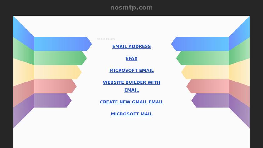 NoSmtp Landing Page