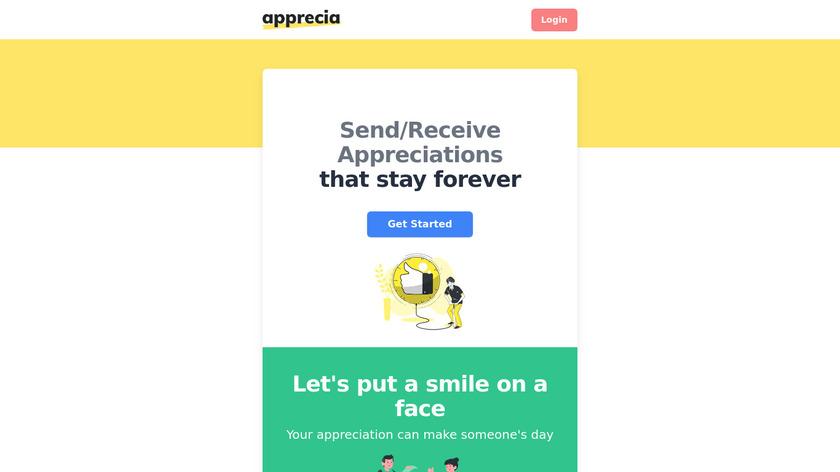 Apprecia Landing Page