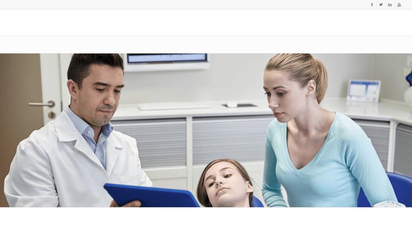 ADSTRA Dental Landing Page