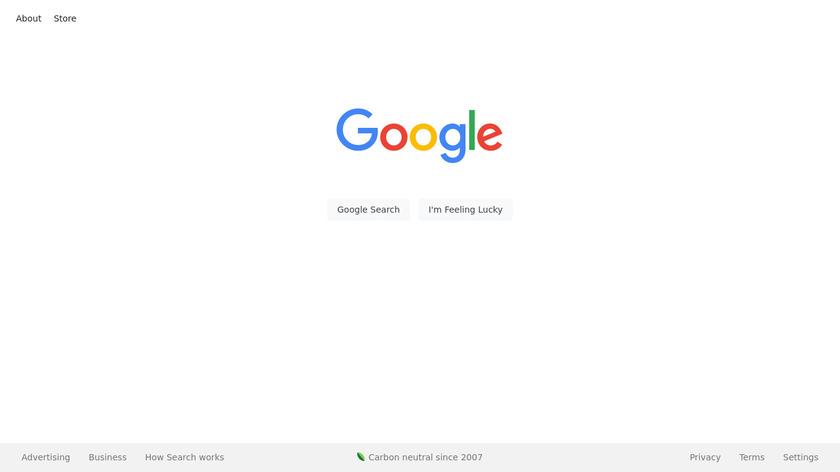 Google Landing Page