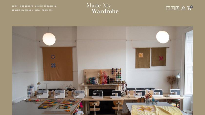 My Wardrobe Landing Page