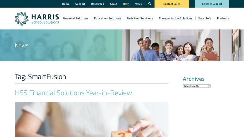 SmartFusion Landing Page
