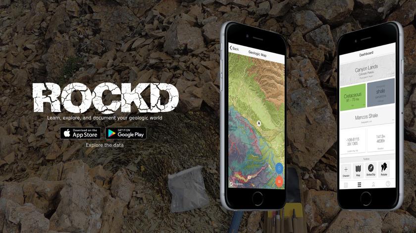 Rockd Landing Page