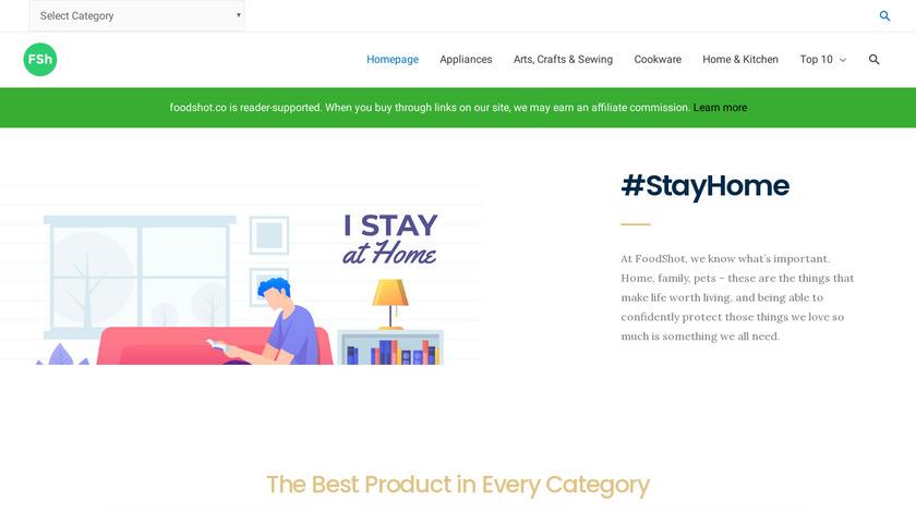 Foodshot Landing Page