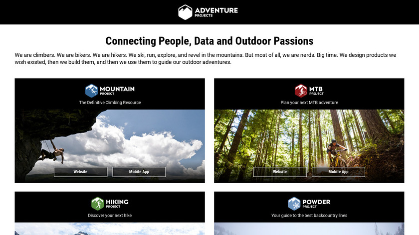 National Park Trail Guide Landing Page