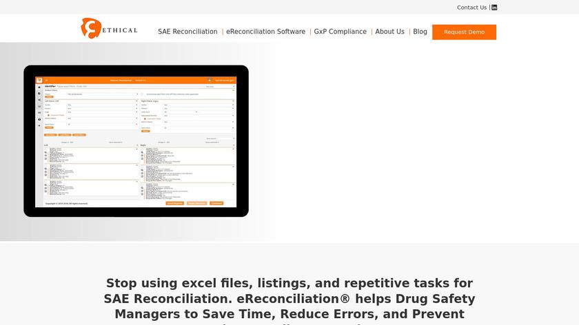 eReconciliation Landing Page