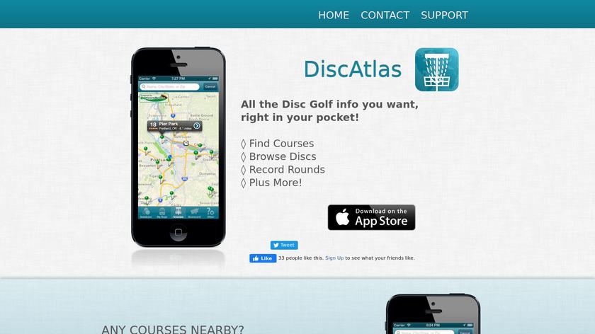 DiscAtlas Landing Page
