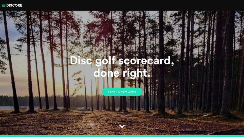Discore.io Landing Page