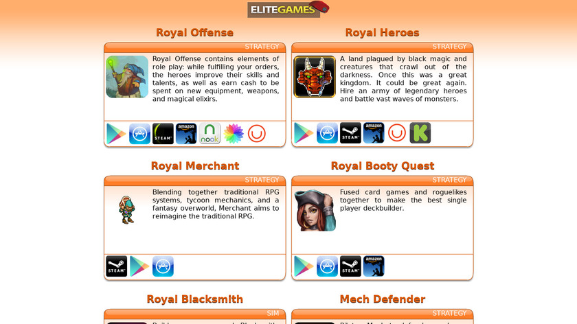 Royal Booty Quest Landing Page