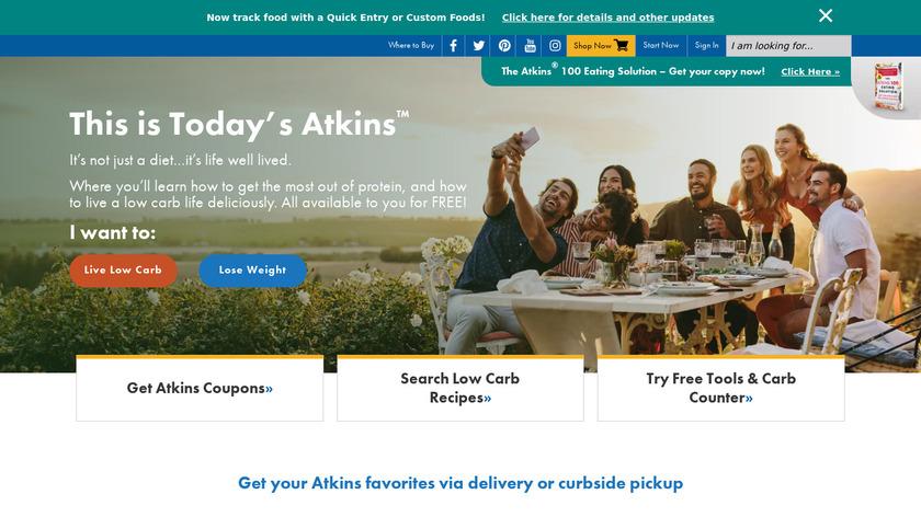 Atkins Landing Page