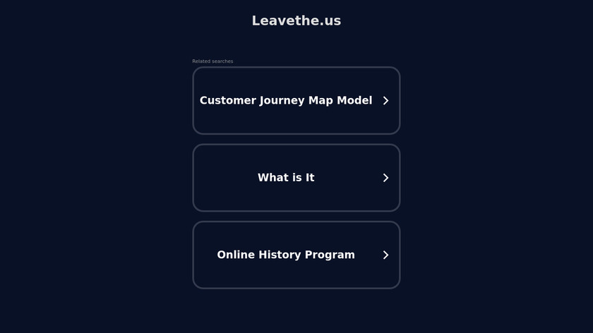 Leavethe.us Landing Page