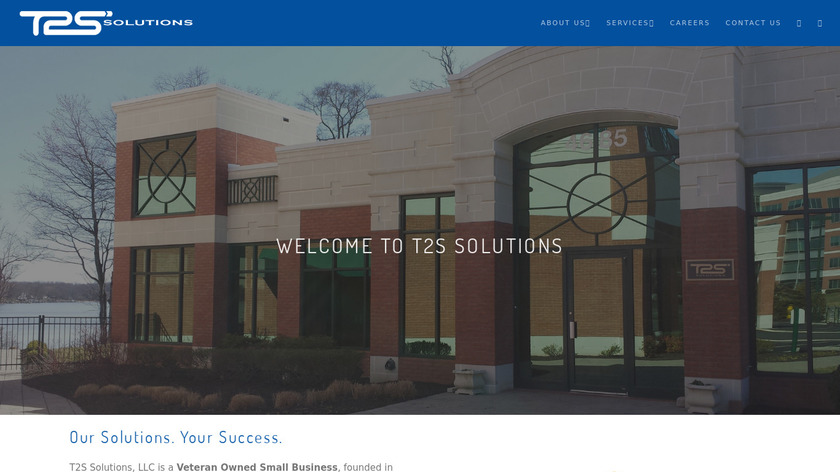 T2S Landing Page